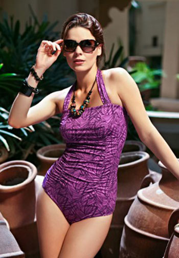 Jamu Keita One Piece Swimsuit (Fuschia)